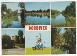 CP MULTIVUES DORDIVES, AU CONFLUENT DU LOING ET DU CANAL DU LOING, LOIRET 45 - Dordives