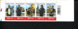 226097132 BELGIE  POSTFRIS MINT NEVER HINGED POSTFRISCH EINWANDFREI OCB B57 3459-3463 MUZIEK  PLA AT 1 - Booklets 1953-....