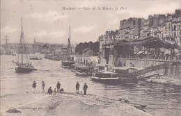 Ag - Cpa NANTES - Gare De La Bourse, Le Port (précurseur) - Nantes