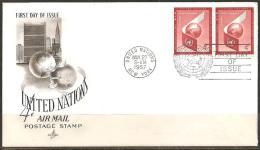 UN NEW YORK 1957 - FDC - Ohne Zuordnung