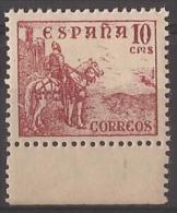 ES1045-LA851TV.España.Spa In Espagne CID Y GENERAL FRANCO 1949/53.(Ed 1045**) Sin Charnela LUJO. - Variedades & Curiosidades