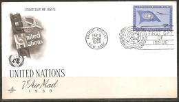 UN NEW YORK 1959 - FDC - Ohne Zuordnung