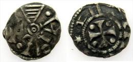 Denier De Flandre - Abbaye D'Ename (extrêmement Rare) - 476-1789 Monnaies Seigneuriales