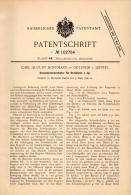 Original Patentschrift - C. Hoffmann In Oetzsch B. Leipzig , 1898 . Apparat Für Drehbank , Dreheirei !!! - Historische Dokumente