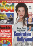 Vsd 1001 Chirac Dustin Hoffman Monica Belluci - People