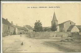N 315 EN MORVAN  ROUSSILLON  QUARTIER DE L EGLISE   PERSONNAGE  OBLITERATION HOPITAL N 82 - Otros Municipios