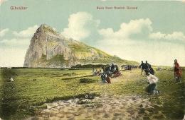 N-GIBRALTAR-ROCK FROM NEUTRAL GROUND(ANIMATA) - Gibilterra