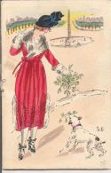 A MA PETITE AMIE VALENTINE,  POUR SA FETE , 14 FEVRIER 1920, PRIERE A SAINT VALENTIN, - Stagioni & Feste