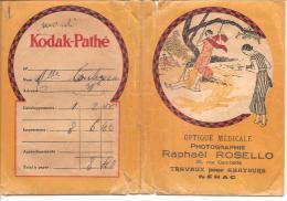 Porte-Négatifs - KODAK-Pathé - Photographie Raphaël ROSELLO - Supplies And Equipment