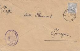 Württ. 231 B EF Auf  Wiederverwendetem Brief Mit Stempel: Ohrnberg 7.NOV 1919, Geprüft - Wuerttemberg