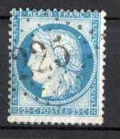 N°60 , Position Planchage 124D3 Losange GC 225 Ault Somme 80 à Voir !!! - 1871-1875 Cérès