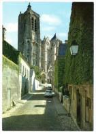 CP, 18, BOURGES, La Cathédrale St Etienne XIVème,(DS), Vierge - Bourges