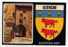 Uzerche- Porte De Bécharie-Auto-collant - Uzerche