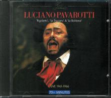 LUCIANO PAVAROTTI  * LIVE 1961 - 1966 * CD - FROM RIGOLETTO, LA TRAVIATA & LA BOHEME - Opera