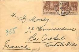 1941  Lettre Pour La France  Censure Allemande - Suède