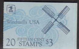 U.S. BK135  BOOKLET  WINDMILLS  ** - Booklets