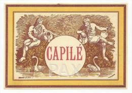 CAPILÉ ♦ RÓTULO De CAPILÉ ♦ XAROPE ♦ LICOR LIQUOR LABEL ♦ Portugal - 2 SCANS - Etiketten
