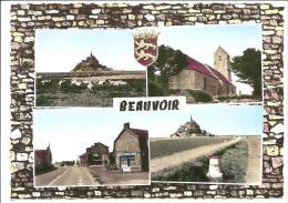 CPSM 50 Beauvoir  Multivues - Altri Comuni