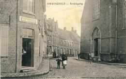 Swevezeele /  Zwevezele  - Kerkingang - Zur Entracht -1915 ( Verso Zien ) - Wingene