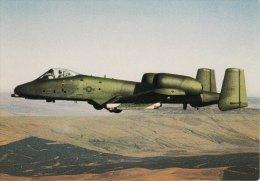 Aircraft Postcard USAF Fairchild A.10 Thunderbolt Benwater North Yorkshire - 1946-....: Moderne