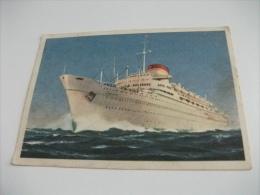 Navi Ship Motonave Giulio Cesare Italia Navigazione  Genova  Grande  Formato - Dampfer