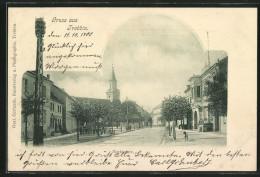 AK Trebbin, Partie Am Marktplatz - Trebbin