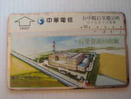 Taiwan Phonecard: Recycling Plant, 810B - Taiwan (Formosa)