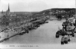La Cathédrale Et Les Quais - Rouen