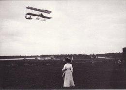 Aviation Photo Card Gustav Blondeau Farman Biplane Brooklands 1910 - Airplanes