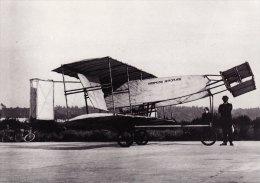 Aviation Photo Card EV Hammond Biplane Brooklands 1909 Aircraft BBC Hulton - Airplanes