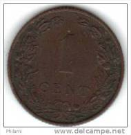 PAYS BAS KM 132.1 1 Ct 1906 . (AUP17) - [ 3] 1815-… : Royaume Des Pays-Bas