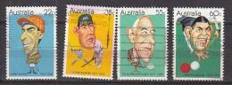 PGL BL0513 - AUSTRALIE AUSTRALIA Yv N°727/30 - Used Stamps