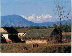 Asie - Népal - Kathmandu - Ganesh Himal - Nepal