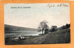 Pila Schneidemuhl Hammer See 1905 Postcard - Polonia