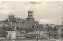 --63-  ISSOIRE  Le College L'église  - Neuve Excellent état - Issoire