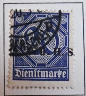 Briefmarke 1920 / 21 Oberschlesien Dienstmarke 20 Pf. Abstimmungsgebiete - Germany