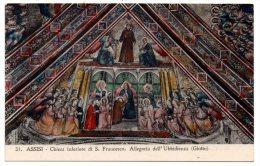 CP, ASSISI, Chiesa Inferiore Di S. Francesco, Allegoria De L'Ubbidienza (giotto), Vierge - Pittura & Quadri