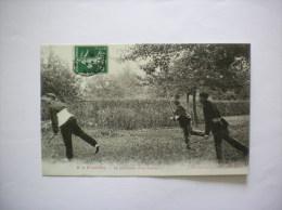 A LA FRONTIERE- POURSUITE D'UN FRAUDEUR 1908 - Douane