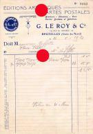 Schaerbeek Bruxelles Rue Du Progrès  Editions Artistiques &   Cartes Postale LE ROY & Cie - Printing & Stationeries