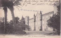 REGIMENT TERRITORIAL 102ème - Cachet Linéaire - CP Carqueiranne 23 Décembre 1914 - Poststempel (Briefe)