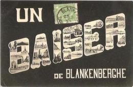 CPA - BLANKENBERGE - UN BAISER DE ... - Edition ?? - Blankenberge