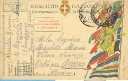 416 -  SCAT.1 - FRANCHIGIA PER FF.AA. - 21-05-1918 - - 1900-44 Vittorio Emanuele III