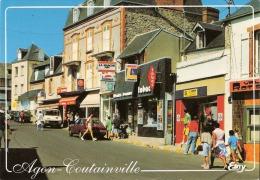 Agon-Coutainville (50) La Rue Amiral Tourville - France