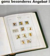 Teil 5 Vordruck-Album Deutschland 1980-1984 Wie Neu 88€ KABE BI-collect Ohne Falz Einzeln Aus Komplett-Album BRD 1949/04 - Vordruckblätter