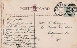POSTAL HISTORY - 1907 DUPLEX CANCELLATION - HAMPSTEAD - Storia Postale