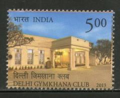 India 2013 Delhi Gymkhana Club Yoga Health 1v MNH Inde Indien - Health