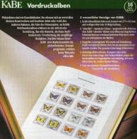 Teil 1 Vordruck-Album Deutschland 1949-1959 Wie Neu 74€ KABE BI-collect Ohne Falz Einzeln Aus Komplett-Album BRD 1949/04 - Vordruckblätter