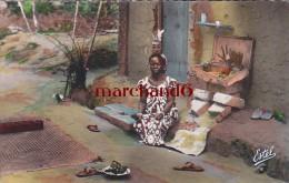 AFRIQUE COTE D IVOIRE ABIDJAN FORET DU BANCO ARTISTE INDIGENE Editeur Estel - Côte-d'Ivoire