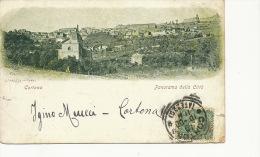Cortona Panorama Della Citta  P. Used 1900 Alterocca - Italie