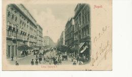 Napoli Corso Umberto I  Edit A. De Simone  Tram Cheval Horse Tram 1902 - Napoli (Naples)